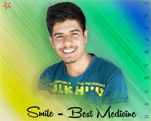 Smile Best Medicine Jai Prakash 이미지 의해 페이스북 Page and JaiPrakashMusic