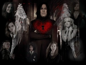 Snape and girls