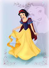 Snow White Painting