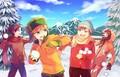 Snowball Fight - south-park fan art