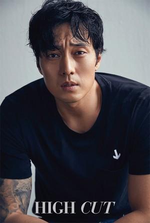 So Ji Sub for 'HIGH CUT'