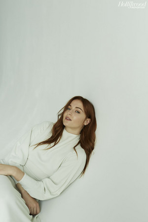 Sophie Turner in The Hollywood Reporter Photoshoot