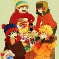 South Park Anime - south-park fan art