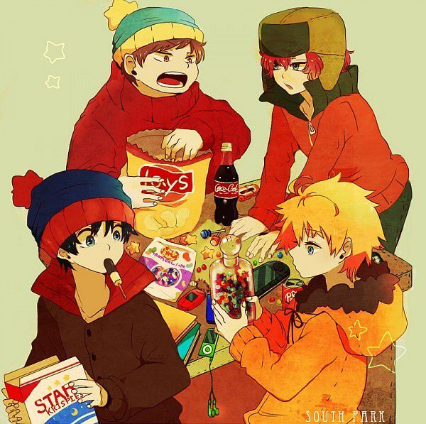 South Park Anime South Park Fan Art 40577806 Fanpop
