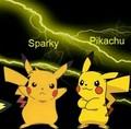 Sparky And Pikachu - pikachu photo