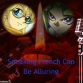 Speaking French Can Be Alluring - yu-gi-oh fan art