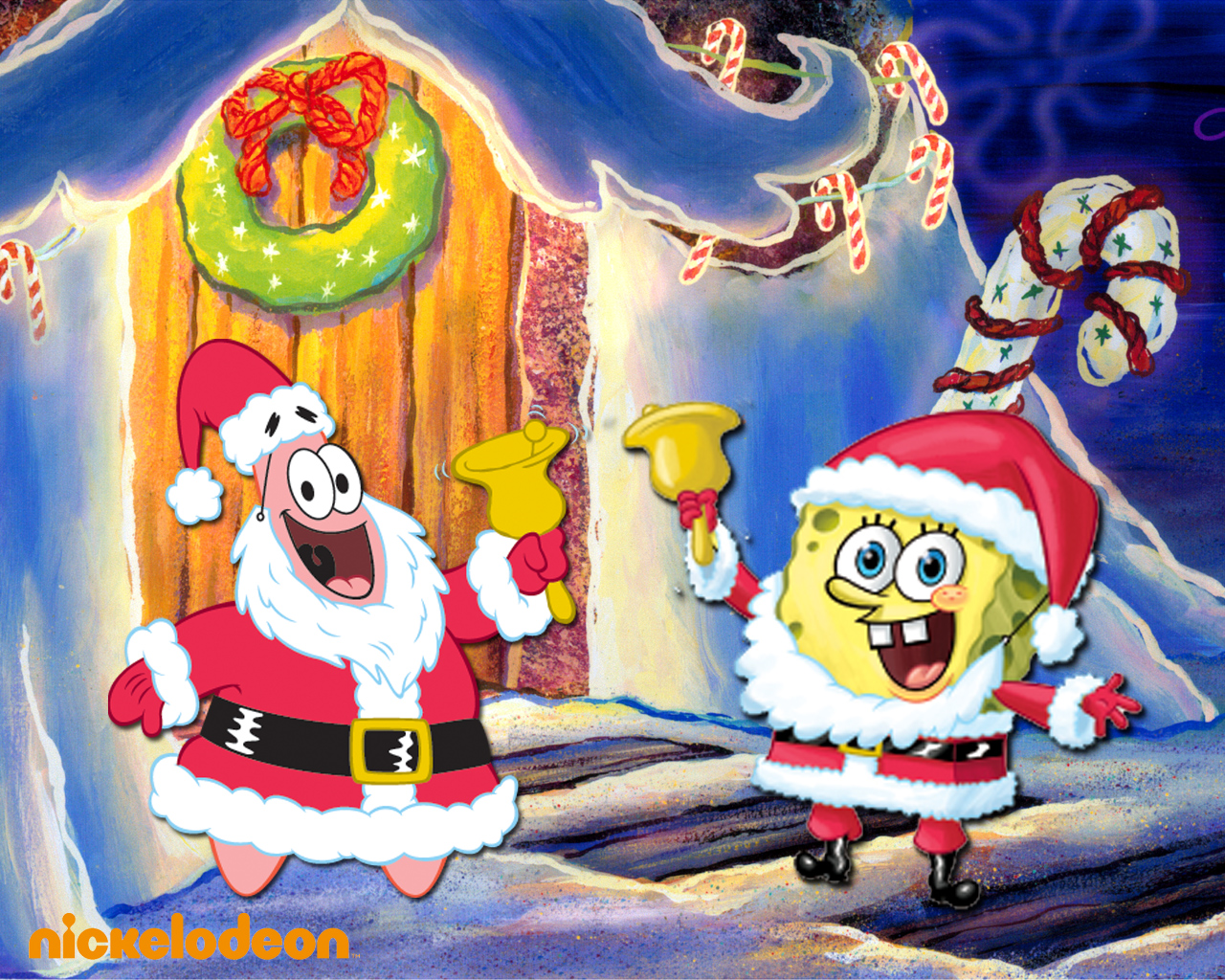 Spongebob Christmas.Spongebob Christmas Wallpaper Spongebob Squarepants