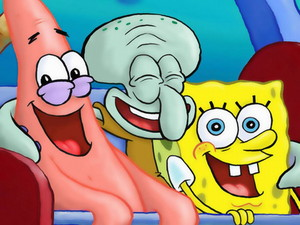 Spongebob, Patrick and Squidward 바탕화면