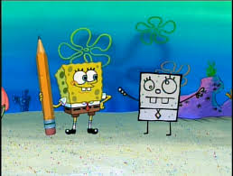 Spongebob and DoodleBob kertas dinding
