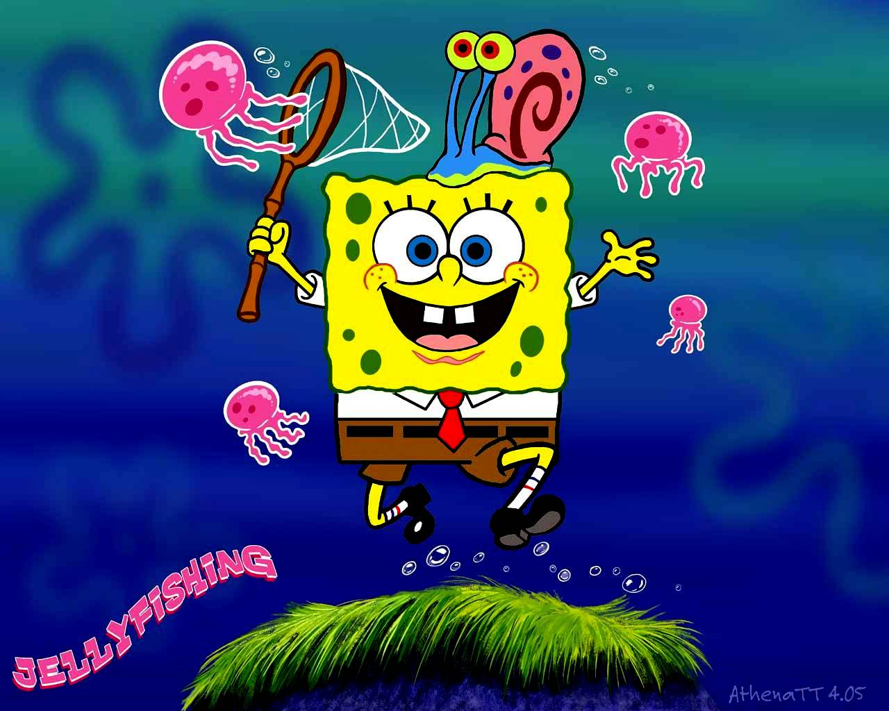 Spongebob Squarepants Images Spongebob And Gary Wallpaper Hd