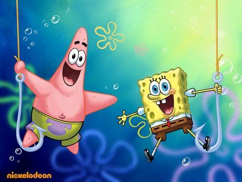 Bob Esponja Calça Quadrada Imagens Spongebob And Patrick Wallpaper