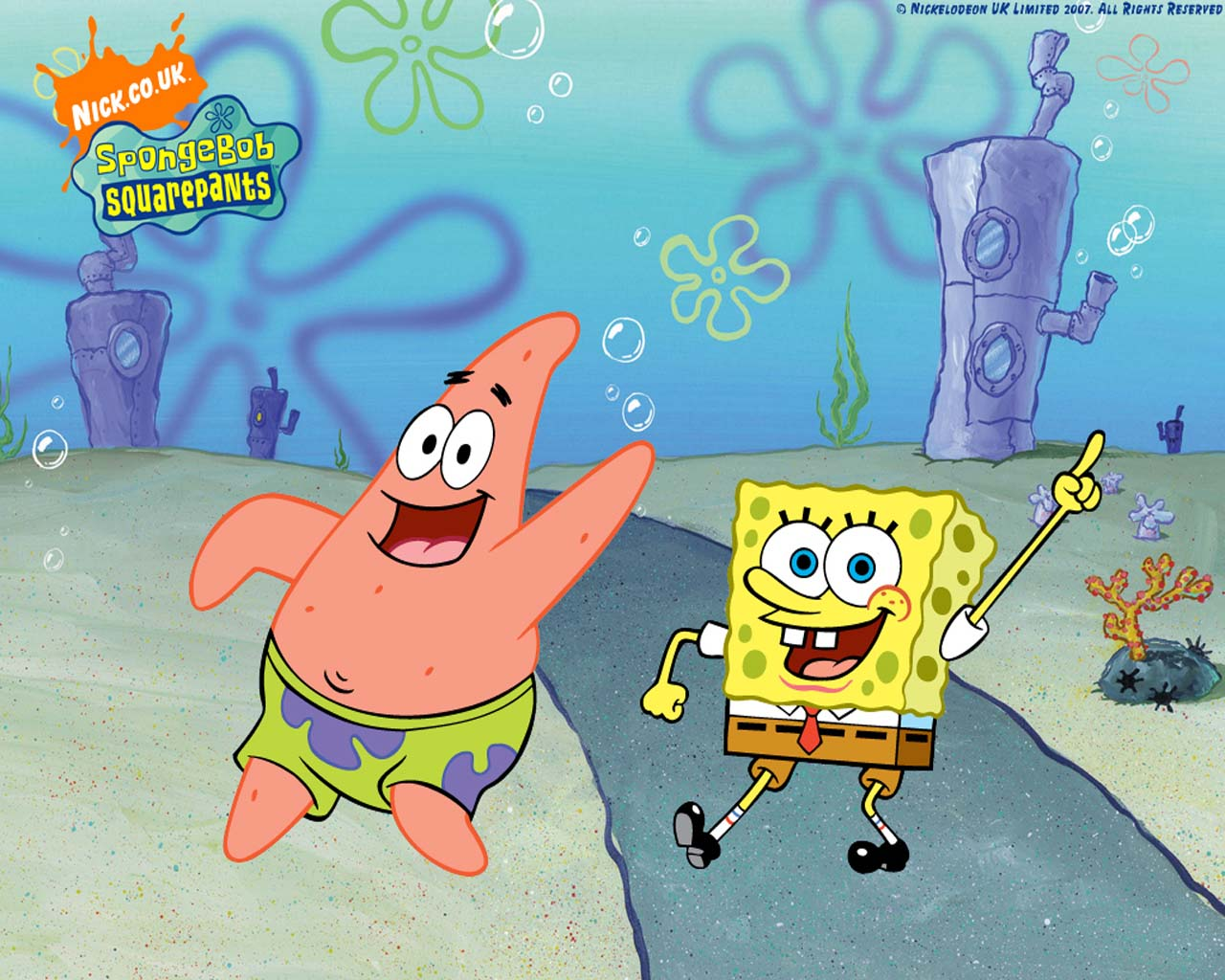 Spongebob And Patrick Fond D écran Bob L éponge Fond D