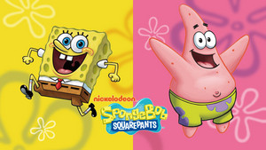 Spongebob and Patrick वॉलपेपर