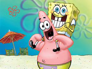 Spongebob and Patrick 壁紙