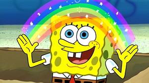 Spongebob karatasi la kupamba ukuta