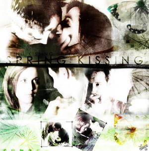 Spring kissing