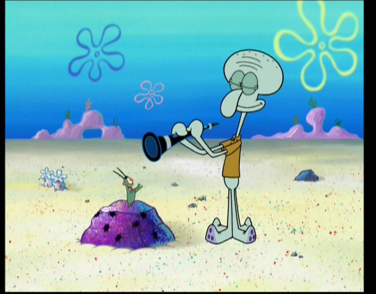 Squidward And Plankton Fond D écran Bob L éponge Photo