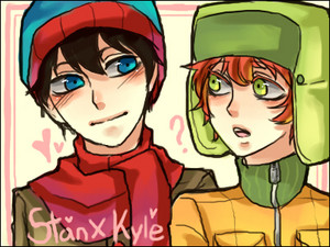 Stan and Kyle