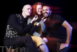 star, sterne Trek: Discovery Comic Con Cast Fotos