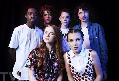 Stranger Things wallpaper titled Stranger Things Cast at San Diego Comic Con 2017