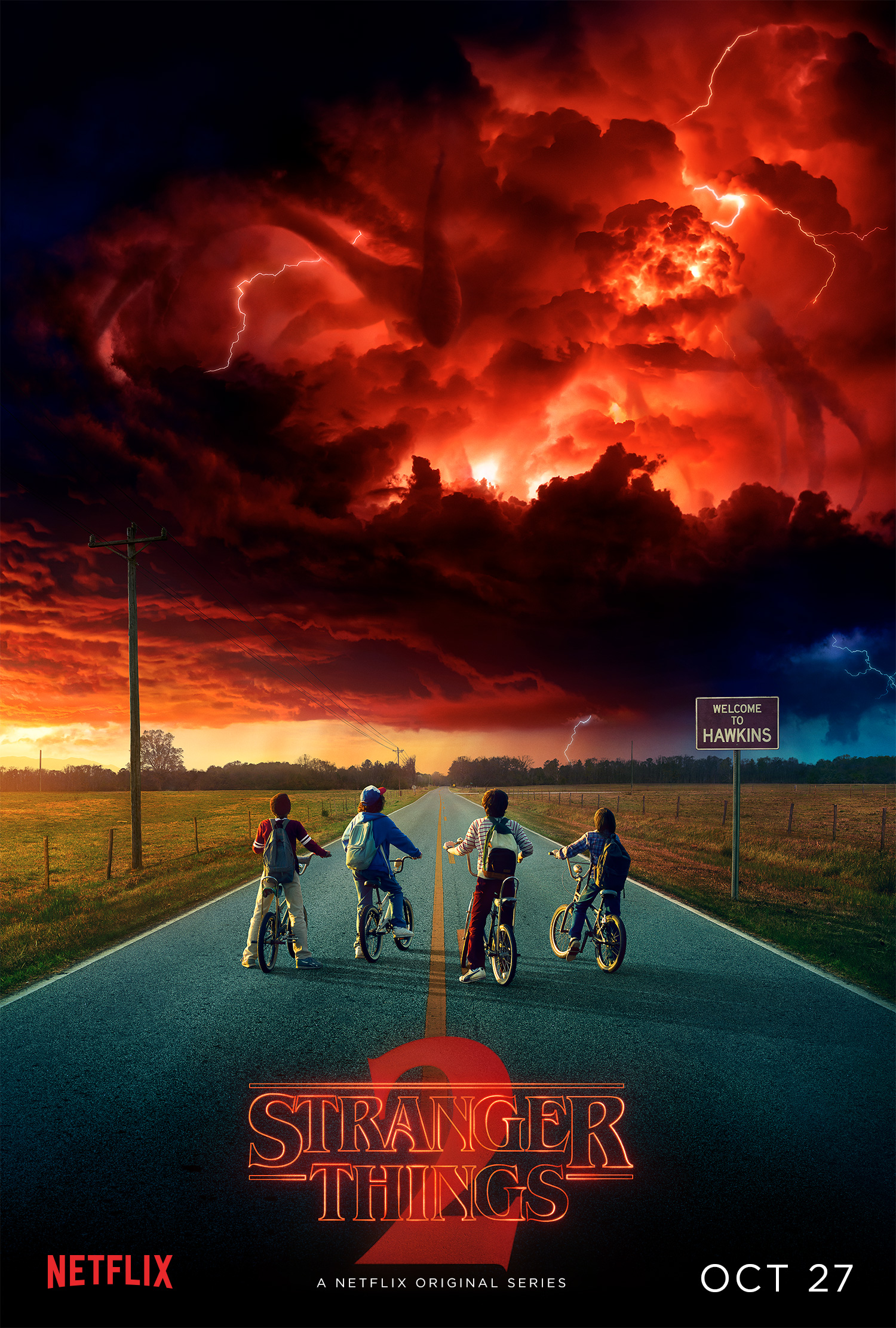 Stranger Things - Season 2 Poster