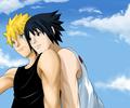 Summer  - sasunaru fan art