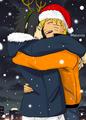 Sweet Christmas  - sasunaru fan art