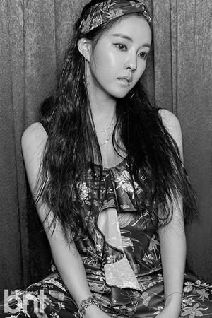 T-ARA's Hyomin for bnt international