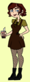 TD OC - Riley - total-drama-island-fancharacters fan art
