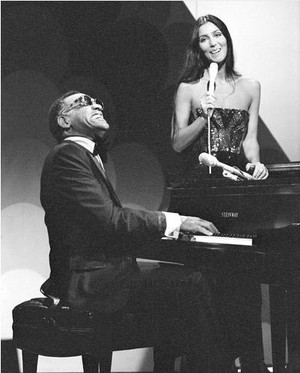 Cher And Ray Charles