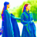 Talisa and Catelyn - game-of-thrones fan art