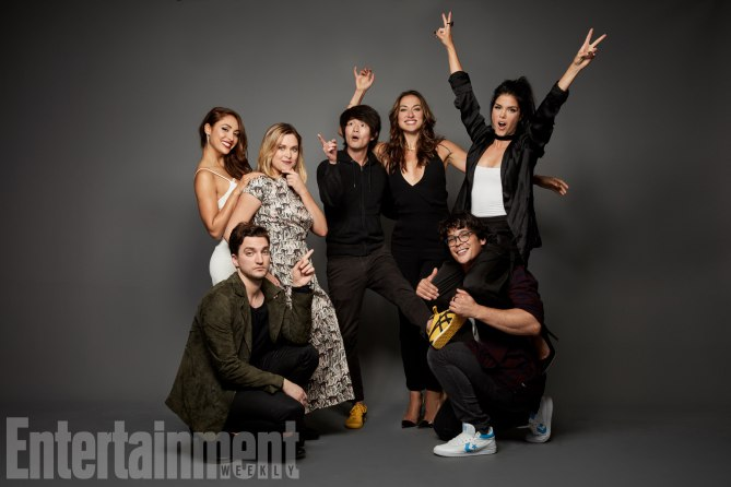 The 100 Cast at San Diego Comic Con 2017