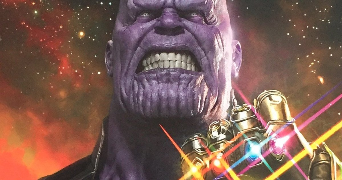 The Avengers: Infinity Wars Thanos Poster