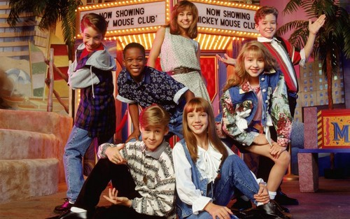 The 90s wallpaper entitled The Mickey Mouse Club
