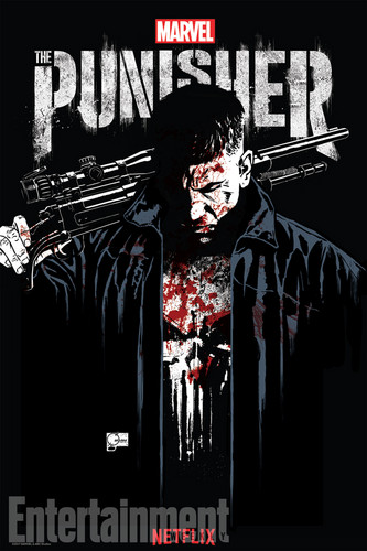 The Punisher - Netflix kertas dinding called The Punisher Comic COn Poster