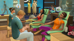 The Sims 4: Spa दिन