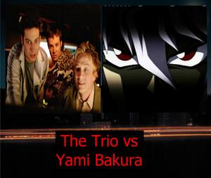 The Trio vs Yami Bakura