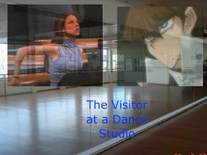 The Visitor at a Dance Studio