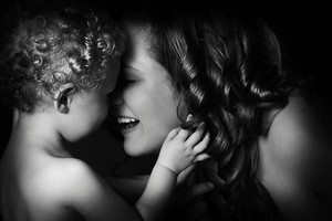 The heart of a mother is a deep abyss at the bottom of which you will always find forgiveness.