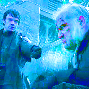Theon and Ser Rodrik