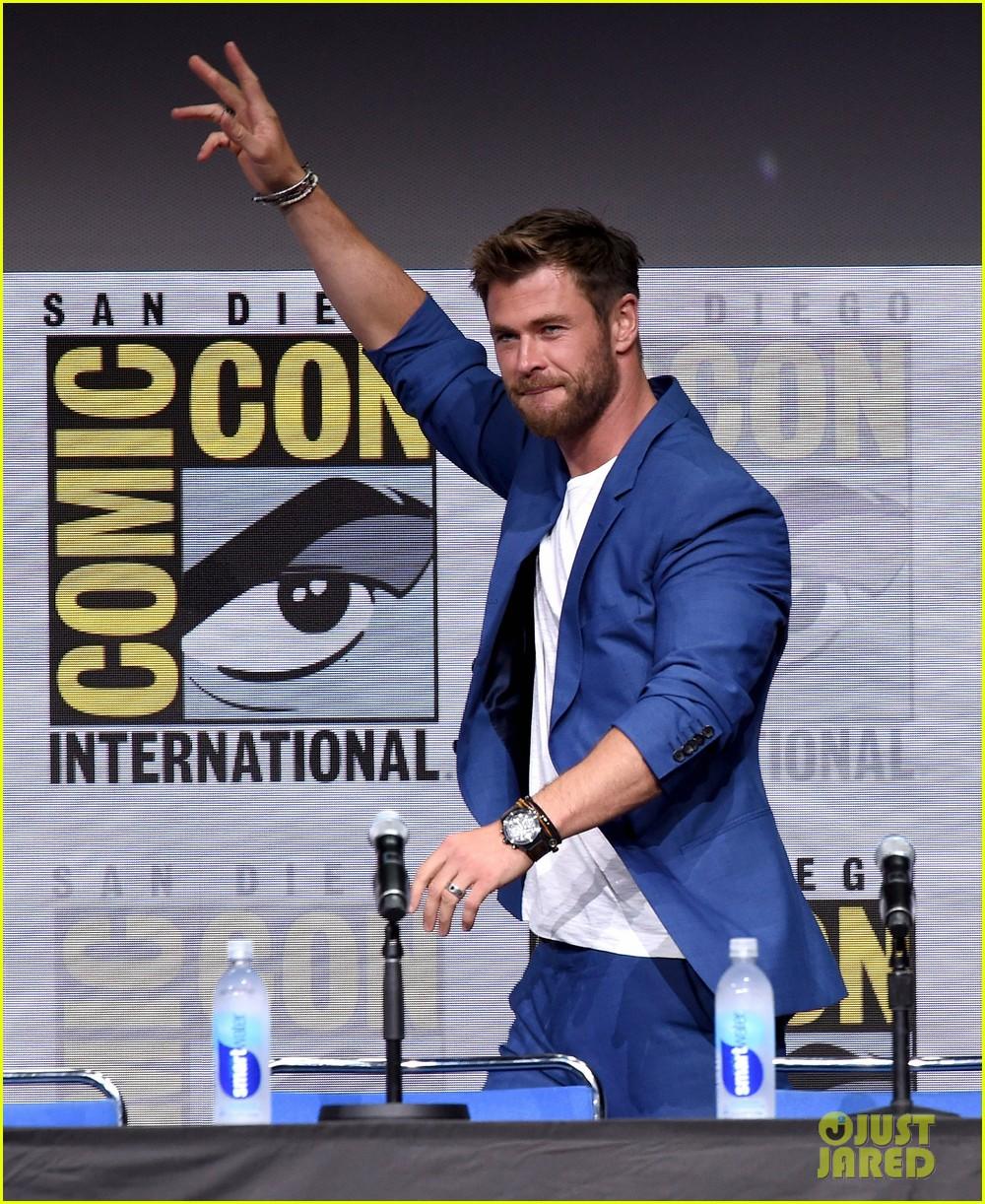 Thor Ragnarok Comic Con 2017 panel