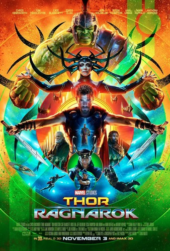 Thor: Ragnarok 壁紙 called Thor: Ragnarok - Comic Con Poster