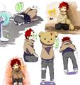 Tiny Gaara - gaara-of-suna fan art