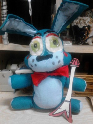 Toy Bonnie Plushy 1
