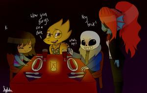 Undertale dinner date