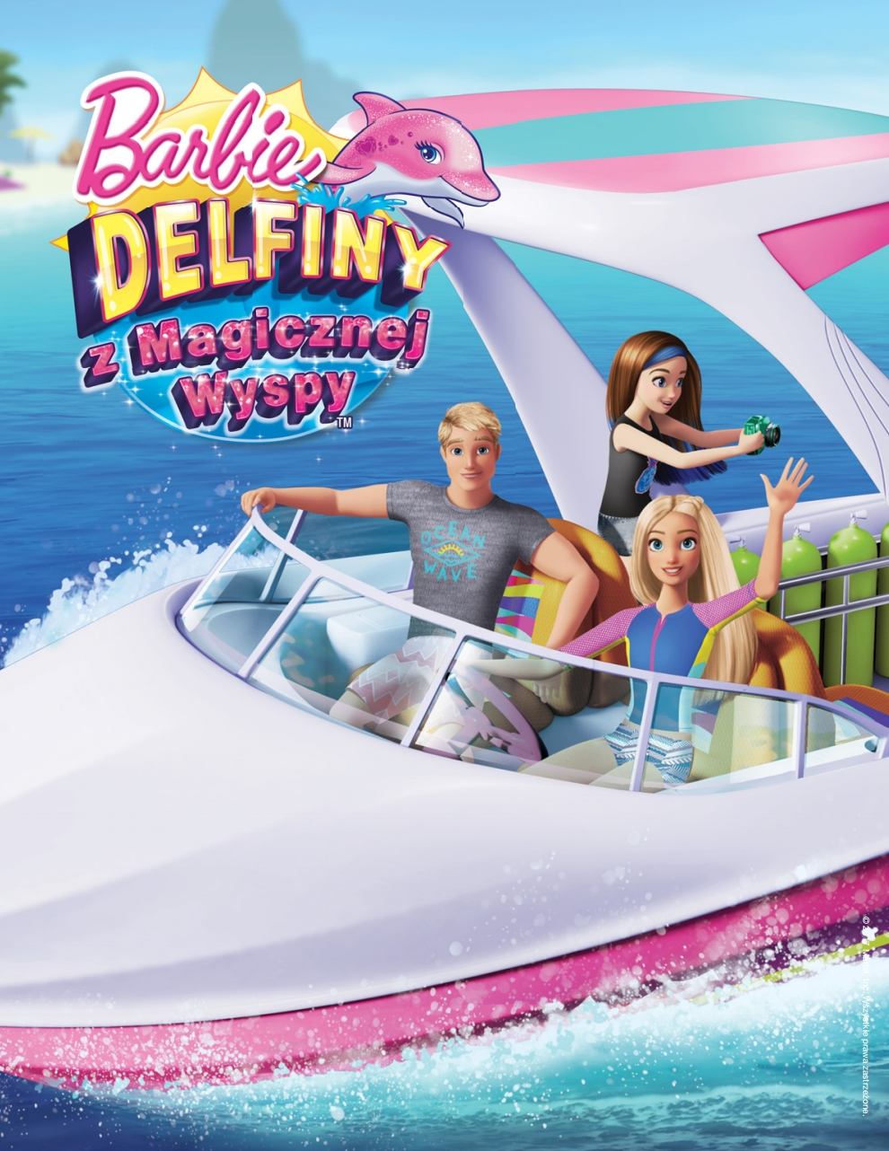 Barbie delfino Magic