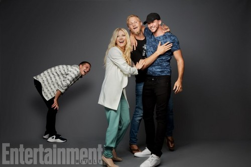 vikings (serial tv) wallpaper entitled Vikings Cast at San Diego Comic Con 2017