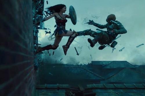 Wonder Woman (2017) karatasi la kupamba ukuta called WW 2017