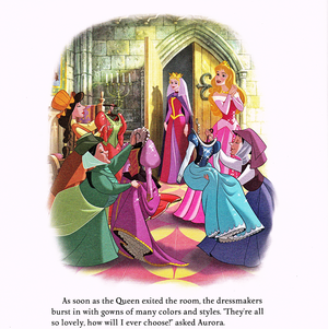 Walt ディズニー Book Scans - Sleeping Beauty: Aurora's Royal Wedding (English Version)