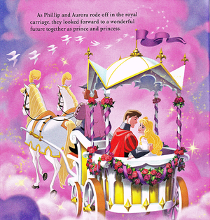 Walt Дисней Book Scans - Sleeping Beauty: Aurora's Royal Wedding (English Version)